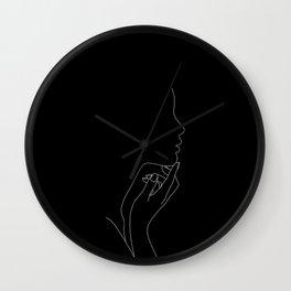 Profile illustration - Jemma Wall Clock
