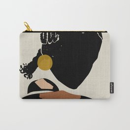 Black Hair No. 12 Carry-All Pouch