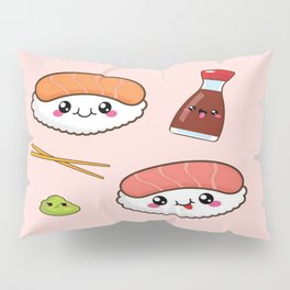 Yummy Sushi Pillow Sham