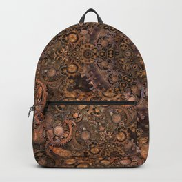 Steampunk Gears Backpack