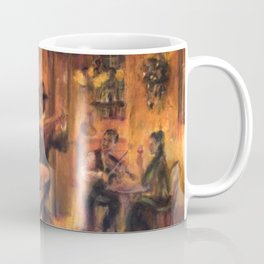 Couple dancing tango painting Coffee Mug
