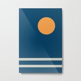 Art Sea Metal Print
