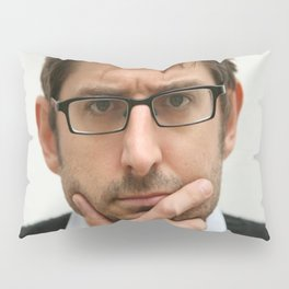 Louis Theroux, from the BBC 2019 Pillow Sham