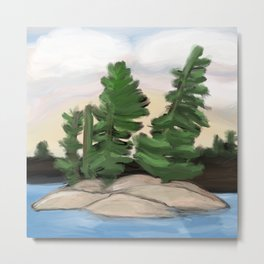 Georgian Bay Trees Metal Print