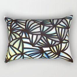Ink & water color Illustration Rectangular Pillow