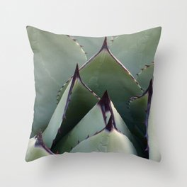 Cactus Close-up Throw Pillow