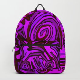 Magenta symbols Backpack