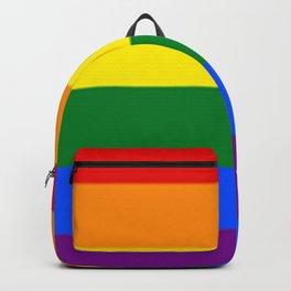LGBT flag (Rainbow flag) Backpack