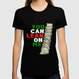 You Can Lean On Me Italian Gift T-shirt
