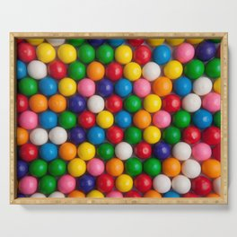 Gumballs Serving Tray