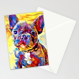 French Bulldog 7 Stationery Cards