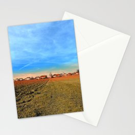 Horizon, clouds, sky and sunset   landscape photography Stationery Cards