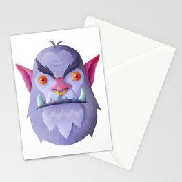 Snow ogre Stationery Cards