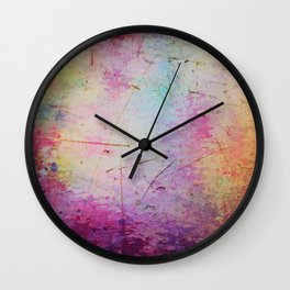Colour mirage Wall Clock