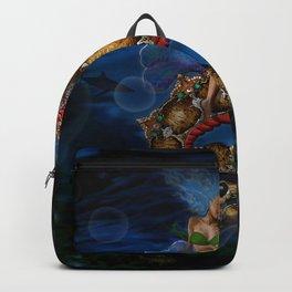 Unicorn Seahorse Backpack
