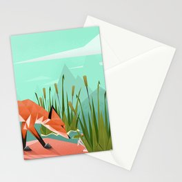 Triangular world Stationery Cards