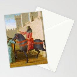 Filippino Lippi - The Triumph of Mordecai Stationery Cards