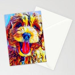 Goldendoodle 2 Stationery Cards