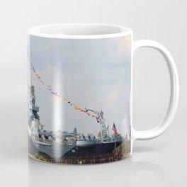 Full Dressed Battleship Coffee Mug
