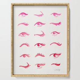 Mascara Envy – Pink Ombré Palette Serving Tray