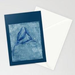 Violet Lace Stationery Cards