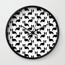 I love my Border Collie Wall Clock