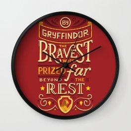 Bravery Wall Clock