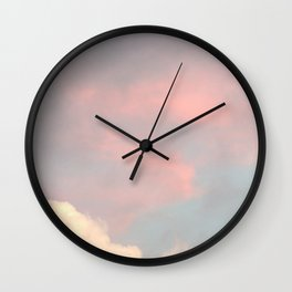 Sweet Candy Clouds Wall Clock
