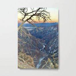 Royal Gorge, Colorado  Metal Print