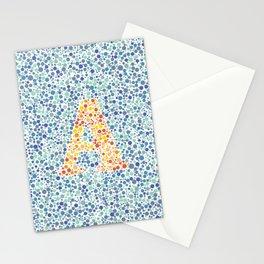 """A"" Eye Test Full Stationery Cards"