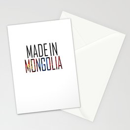 Made In Mongolia Stationery Cards