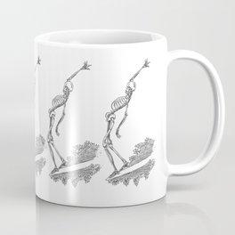 Surfing Skele Coffee Mug