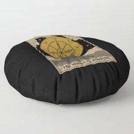 The Wheel of Fortune Floor Pillow