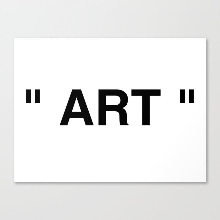 """"""" Art """" Leinwanddruck"""