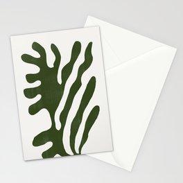 Alga, Seaweed, Green Plant Stationery Cards