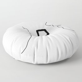 Music To My Ears Floor Pillow