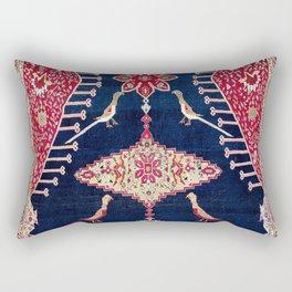 Karabagh Azerbaijan South Caucasus Kelleh Rug Print Rectangular Pillow