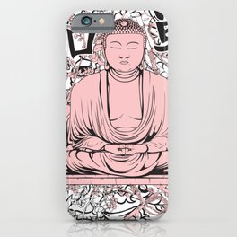 Sakura Buddha iPhone Case