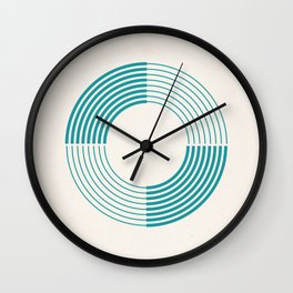 Coil Wall Clock