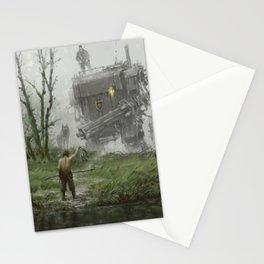 1920 - fisherman Stationery Cards