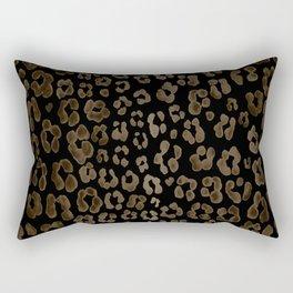 Dark Leopard Rectangular Pillow