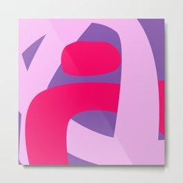 pink life Metal Print