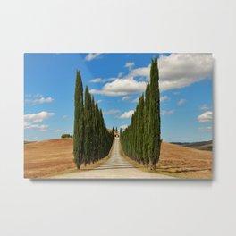Tuscany Roads | Italy  Metal Print