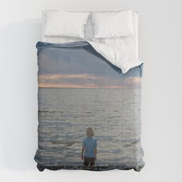 Boy and the Silver Sea Comforters