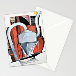 Charles Demuth - Machinery - Digital Remastered Edition Stationery Cards