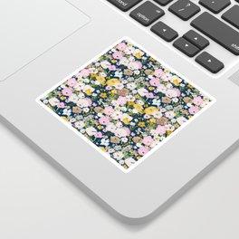 Flower Stand - blue Sticker