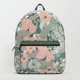 Tropical Florals (Graze) Backpack