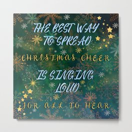 Christmas Cheer Metal Print