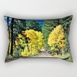Bright Autumn Day Rectangular Pillow