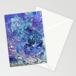 purple nebula Stationery Cards